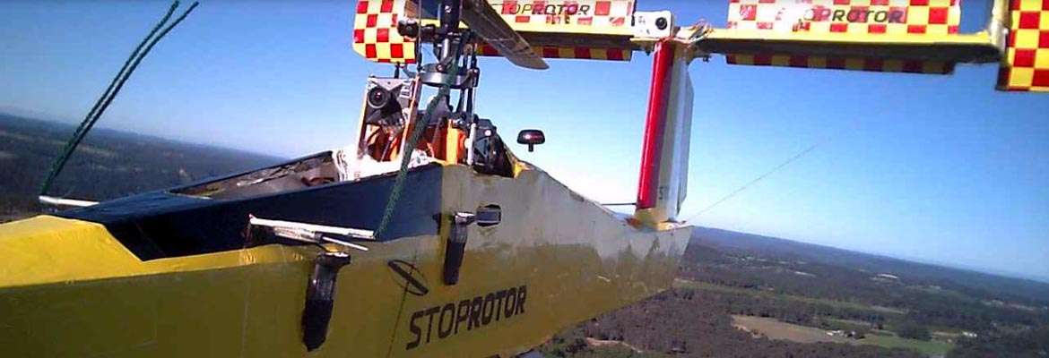 StopRotor completes First In Flight Transition