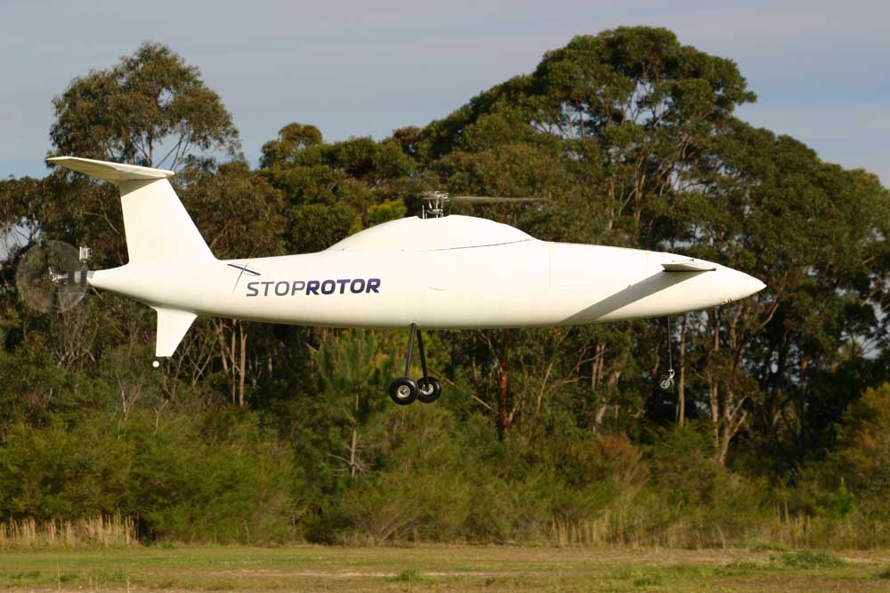 StopRotor Small UAS Specifications